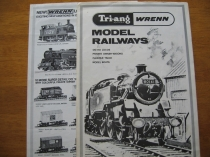 Wrenn Ref R3/3/71 Triang/Wrenn Brochure including Supplement and PriceList