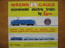 Wrenn First N Gauge Catalogue N.10/67 - VERY RARE