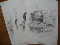 Wrenn Set Peter Dunford Loco Prints - 4