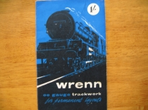 "Wrenn ""OO"" Gauge Trackwork Booklet - January 1961"