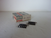 "Wrenn ""N"" Gauge Cat No 503 - Sixth Straight Track - 12 Pieces - V/RARE"
