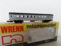 "Wrenn ""N"" Gauge 309 ""French Railways"" Coach - Grey"
