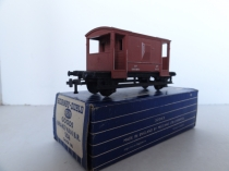 Hornby Dublo 4311 Goods Brake Van - BR Brown - 2/3 Rail