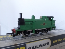 Wrenn W2206 0-6-0 Tank- Malachite Green BR - Mid P3 Issue