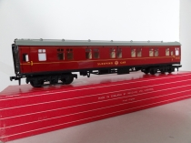 Hornby Dublo 4078 Composite Sleeping Car - 2/3 Rail - Boxed