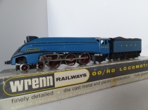 "Wrenn W2210 ""Mallardl"" A4 Class Locomotive - LNER Garter Blue - Late P3 Issue"