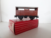 Hornby Dublo 4630 8-Ton Cattle Wagon - BR Brown - 2/3 Rail