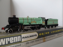 "Wrenn W2221 ""Brecon Castle"" - BR Experimental Green - Rare - Mid P3 Issue"