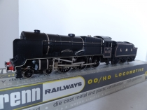 "Wrenn W2261 ""Black Watch"" Royal Scot Locomotive - LMS Black - Early P4 Issue"