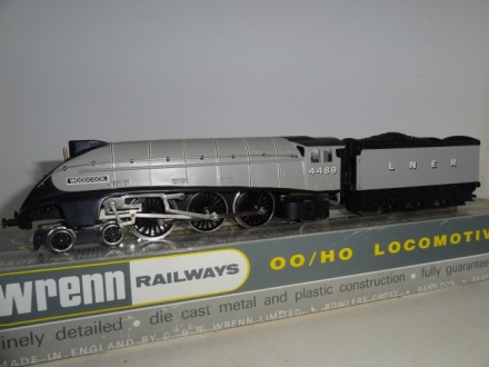W.2283 Woodcock A4 Class Locomotive - LNER Grey - VERY RARE