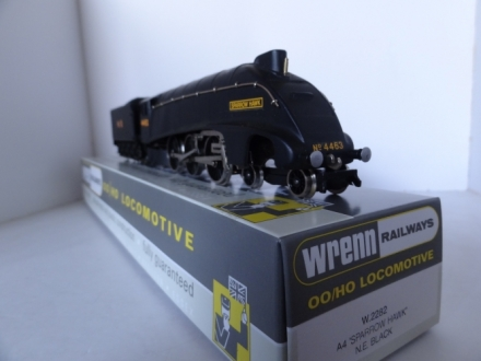 Wrenn W.2282 Sparrow Hawk A4 Locomotive - NE Black - V/RARE
